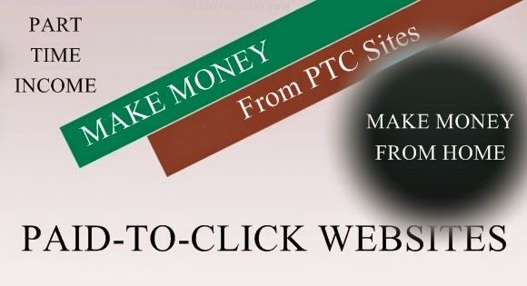 how to make money with paid to click sites