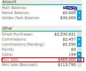 Mini Jobs on Neobux