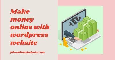 make money online with website
