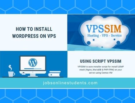 install wordpress on VPS using Script VPSSIM